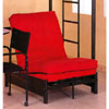 Tri-Fold Black Futon Chair 4029 (MLFS)