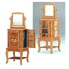 Revolving Jewelry Armoire In Oak Finish 4056 (CO)