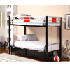 Einsteins Twin/Twin Bunk Bed 98634(ML)
