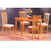 Solid Wood 5 Pc Finish Dinette Set 4158/4108 (PJu)