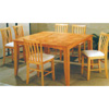 Counter Height Natural Finish Dining Set 4162/4262 (PJ)