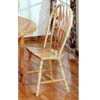 All natural Windsor Side Dining Chair 4189A(CO)