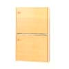 2-Shelf Bookcase With Doors 4215D_  (PJ)