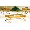Antique Brass Hand Bush Coffee Table Set 4242MX (IEM)