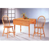 3-Pc Set Farm Table And Two Chairs 4250/4127 (CO)