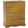 Solid Wood Chest With 4 Drawers 530_(PI)