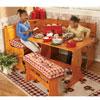 4-Pc Plaid Kitchen Nook Cushion Set 4314_(GHFFS)