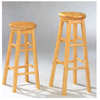 All Natural Finish Swivel Seat Stool 432_ (CO)
