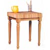 Butcher Block Work Island 43425NAT-01-KD (LN)