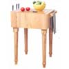 Butcher Block Work Island 43476NAT-01-KD-U (LN)