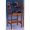 Oak Finish Spectator Single Chair 4353 (CO)