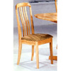 Natural High Back Dining Chair 4357 (CO)