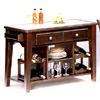 13 In. Tile Top Server In Capuccino Finish 4394 (CO)