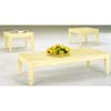 Ivory Coffe Table Set 45007 (IEM)