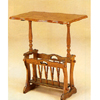 Oak Veneer Tea Table With Magazine Rack 4500 (COFS)