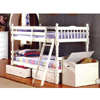 Twin-Twin Spindle Bunk Bed CMBK606W(IEM)
