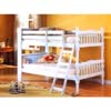 Twin-Twin Convertible Bunkbed With Bookcase 4521_ (ML)