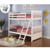 White Twin/Twin Bunk Bed 460227(CO)