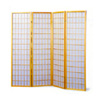 Four Panel Natural Framed Screen 4623(CO)