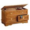 Oak Cedar Chest With Jewelry Tray 4698 (CO)