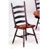 Hunter Green Ladder Back Chair 4704 (CO)