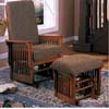 Oak Finish Glider Rocker 4771 (CO)