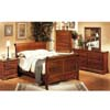 5-Pc Sleigh Bedroom Set In Oak Finish 4781_ (CO)