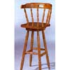 Oak Finish Colonial Bar Stool 4884A (CO)