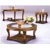 Antique White Wash Coffee Table CM4918C-WH (IEM)