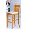 Maple Finish Weaving Back Bar Stool 4928 (CO)