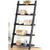 Weathered Black Ladder Book Shelf 5049 (CO)