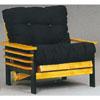 Golden Oak/Black Chair Frame 5084D (WD)