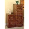 Oak Finish Cabinet with Lock 531_(CO)