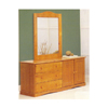 Solid Wood Door Dresser 5420_ (PI)