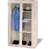 Linen Cover Storage Closet 5531(OI50)(Free Shipping)