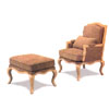 Traditional Chair And Ottoman 5637/38 (CO)