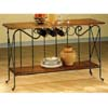 Wine Table In Dirty Oak Finish 5929 (CO)