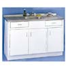 60 In. Sink Metal Base Without Drawer (ARC)