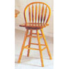 Arrow Back Swivel Bar Chair  6161 (A)
