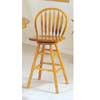 Oak Finish Bar Chair 6181 (A)