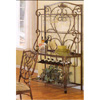 Antique Gold Bakers Rack 6265-76 (WD)