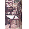Claw Leg Arm Chair 6299 (A)
