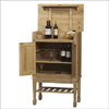 Solid Wood Santa Fe Wine Cabinet 63003SF-01-KD-U(LN)