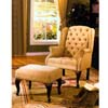Cybil Wing Chair and Ottoman Set 6602 (ML)