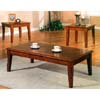 3-Piece Cherry Finish Coffee Table 700005 (CO)