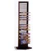 Black Metal DVD Rack 700023(CO)