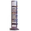Silver Finish Metal DVD Rack 700033(COFS16)