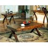 Brown Finish Coffee Table 700068 (CO)