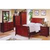 Cherry Finish Queen Bedroom Set CM7001_(IEM)