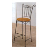Moustache Sandy Black Bar Chair With Wood Seat 7018 (CO)